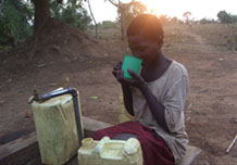help bring clean water to african villages with iA solar water pumps