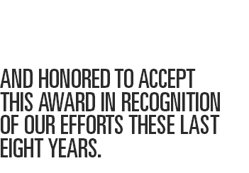 WE WERE PROUD TO ATTEND 